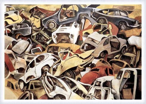 Sfascio di automobili