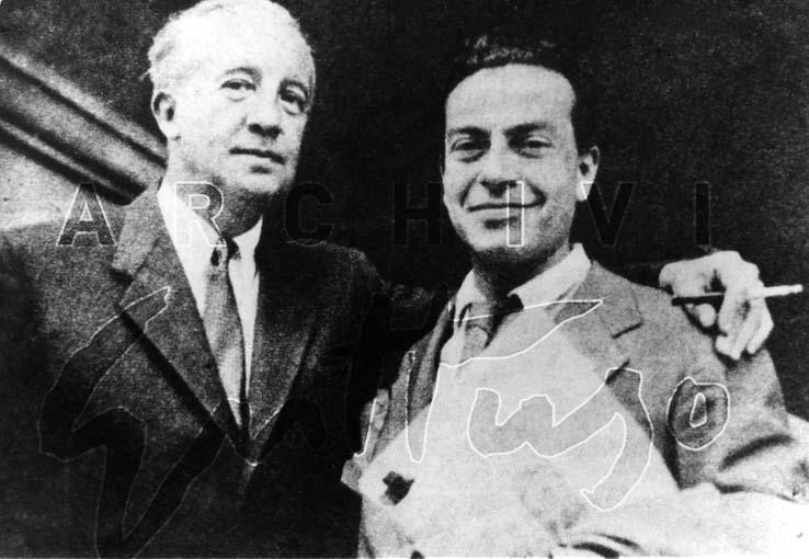 Paul Eluard, Renato Guttuso congresso Mondiale della pace, Wroclaw, 1948