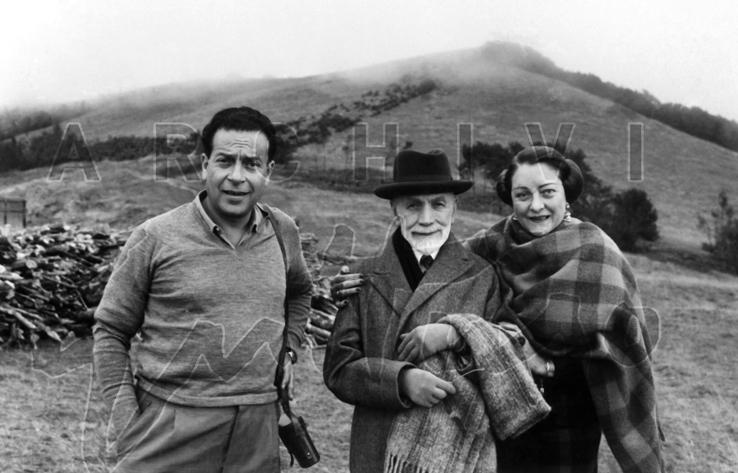 Guttuso, Berenson e Mimise Villa i Tatti, Firenze anni 50