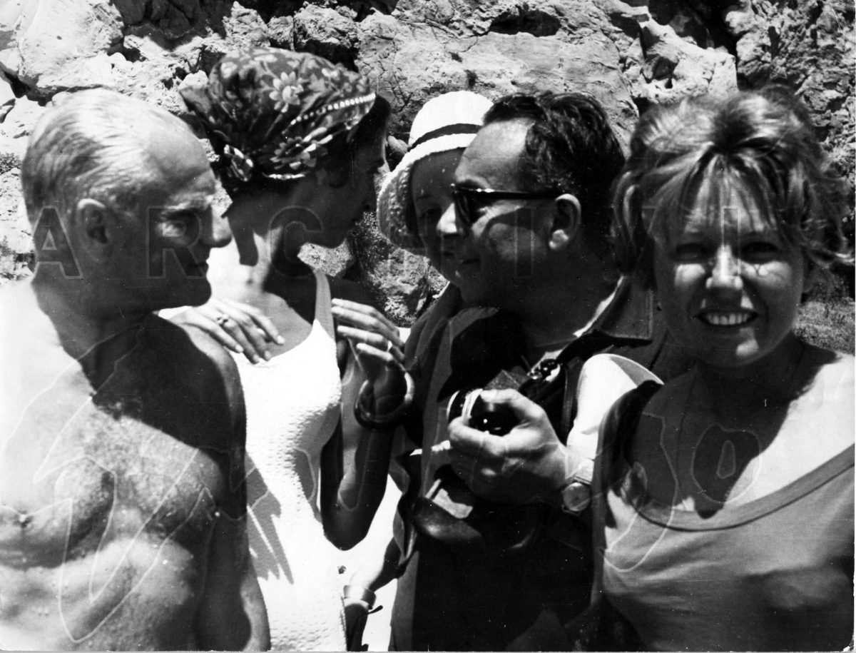 Moravia, Mimise, Guttuso, Maraini, Capri, anni '60