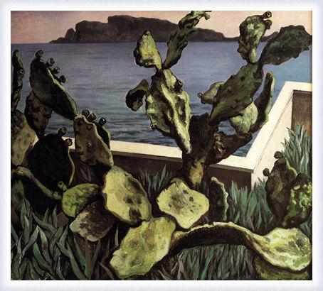 Cactus sul golfo di Palermo
