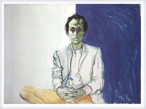 Ritratto di Mario Schifano