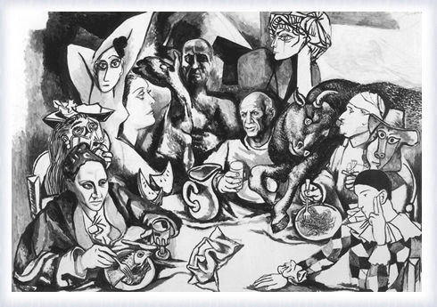 Il convivio: Picasso e i suoi personaggi